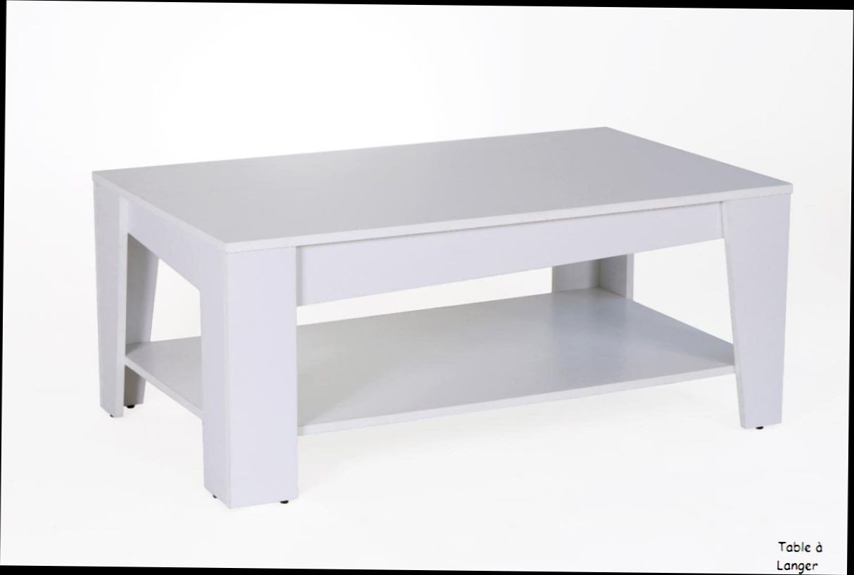 Table Basse Fly Laque Blanc Emberizaone Fr