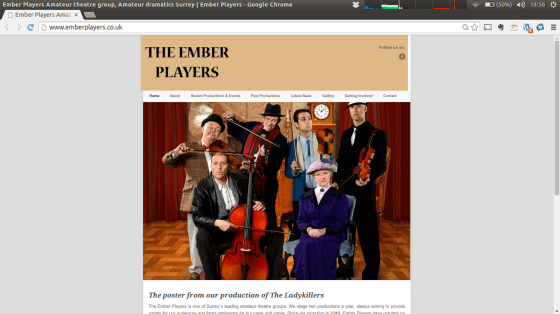 The New Ember Players Website