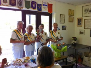 The Victories Team of Ember Ladies at Bishop Duppas BC's Open Day