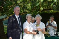Marion & Evelyn; Winners, Ladies Drawn Pairs H'Cap
