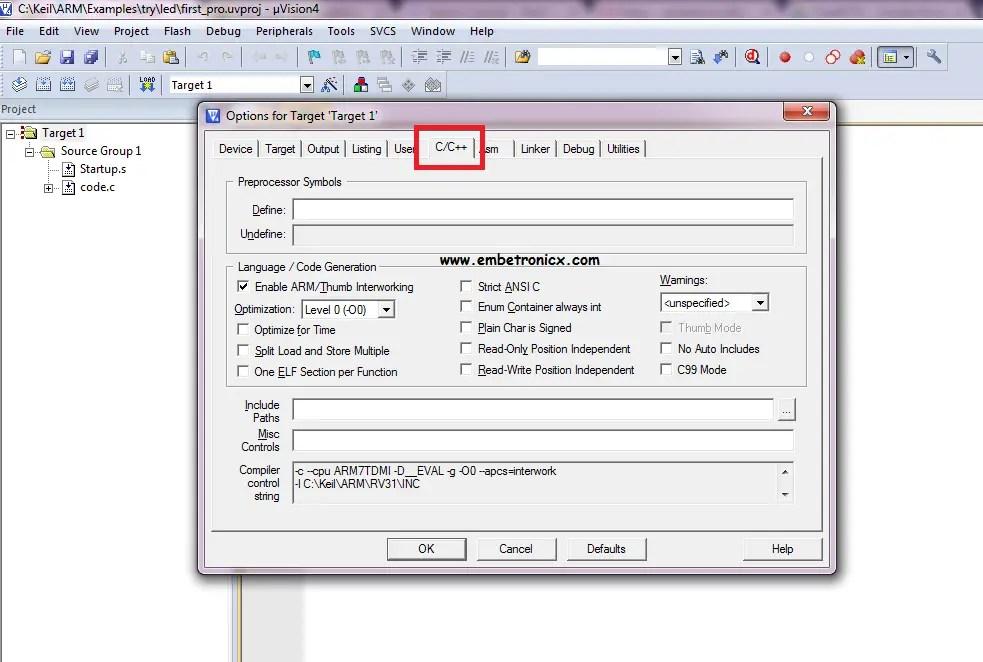FreeRTOS Porting for LPC2148 Using Keil | EmbeTronicX