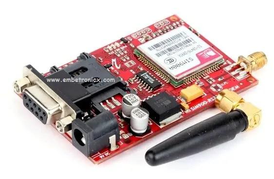 gsm1_Sim900A GSM - SIM900A