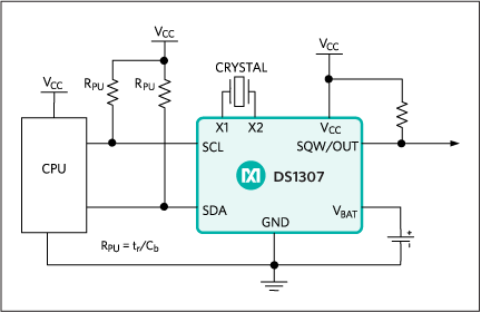 rtc-circuit-diagram 8051 - RTC Interfacing (Alarm Clock)
