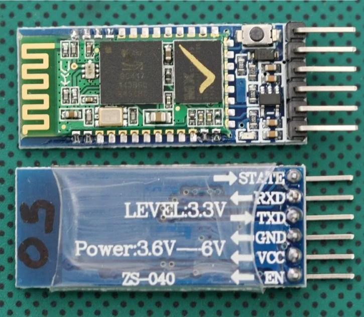 hc05-bluetooth-module Bluetooth Module Interfacing with PIC16F877A