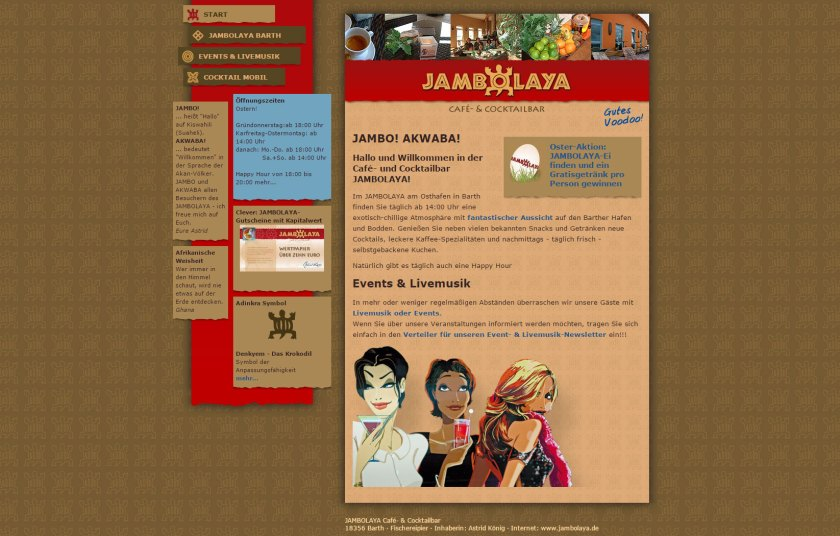 jambolaya-website