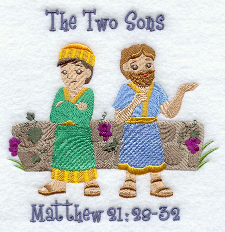 Image result for two sons parable jesus