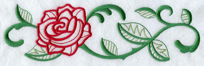 Rose Border (Vintage)