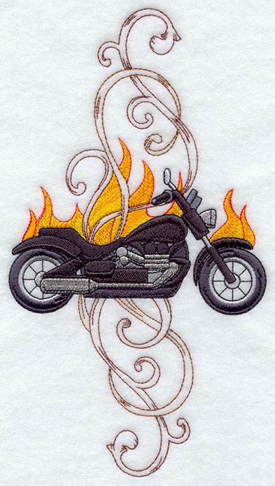 Harley Davidson Embroidery Designs