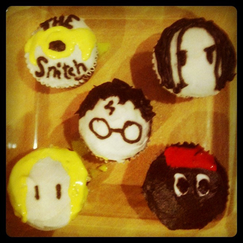 The Snitch, Snape, Harry, Malfoy, Kingsley