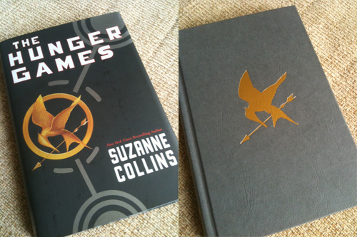 The Hunger Games, with and without jacket