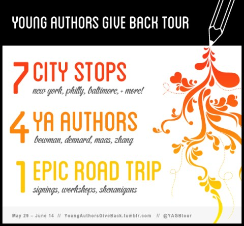 Young Authors Give Back Tour