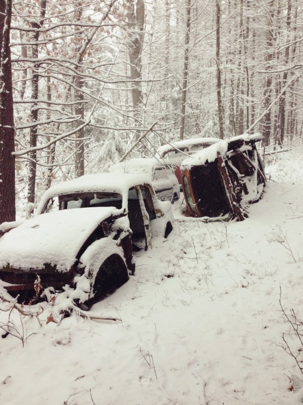 Snowy Hike -- Abandoned