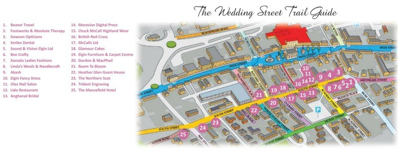 South Street - the Wedding Street Map