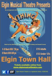 Anything Goes- Elgin Musical Theatre