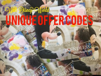 Do you have a Disney Unique Offer Code?