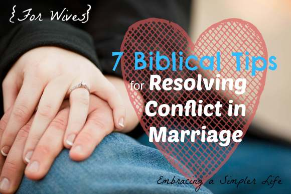 7 Biblical Tips for Resolving Conflict Resolution