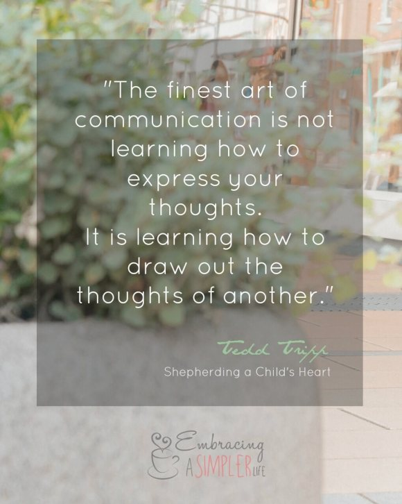 The finest art of communication