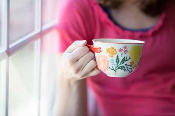 Anthropologie teacup