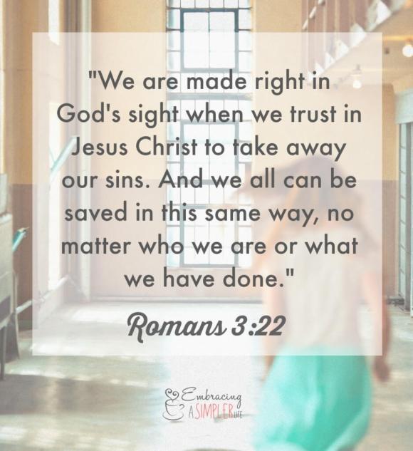 on God's unsearchable grace_Romans 3_22