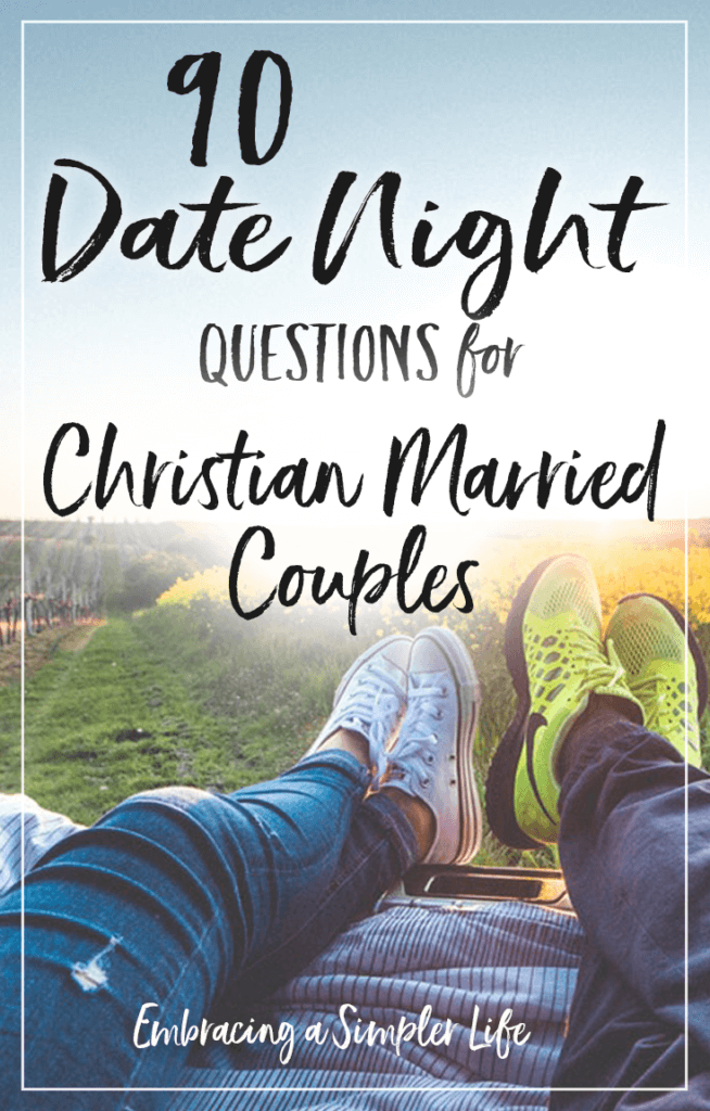 Getting to know you questions for dating couples christian