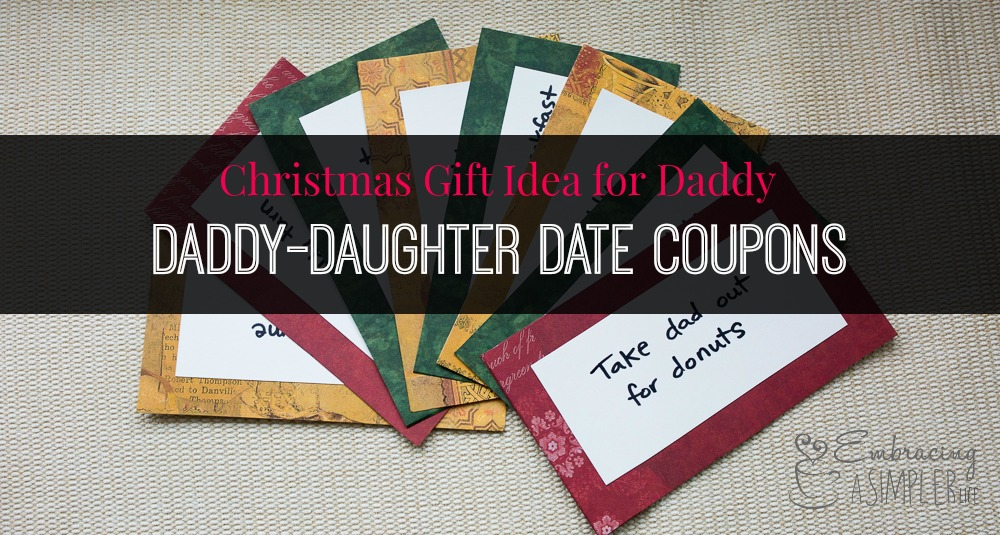 Christmas Ideas For Dad From Daughter.Christmas Gift Idea For Daddy From Daughter Embracing A