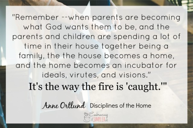 rediscover discipline_ the fire is caught