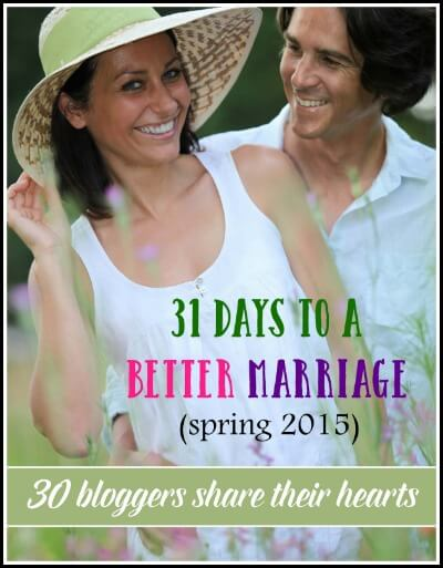 31 Days to a Better Marriage