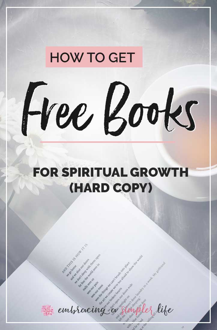 get free Christian books by mail hard copy