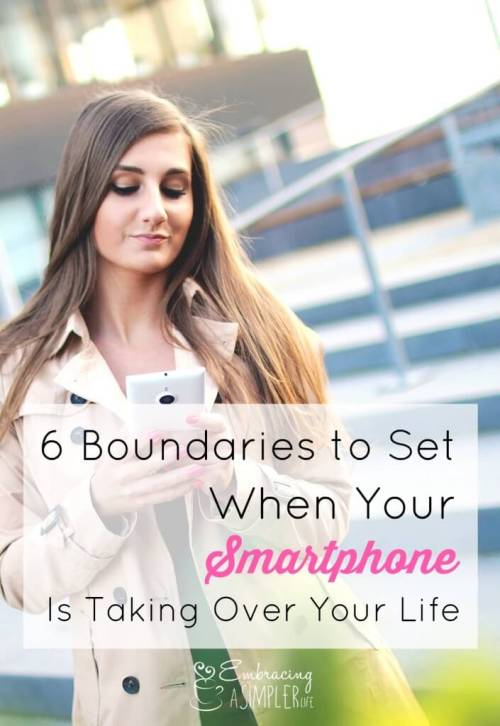 6 boundaries to set when your smartphone is taking over your life