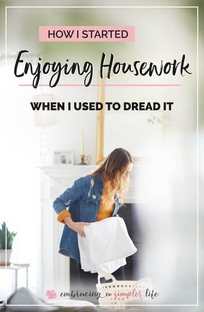 How I started enjoying housework