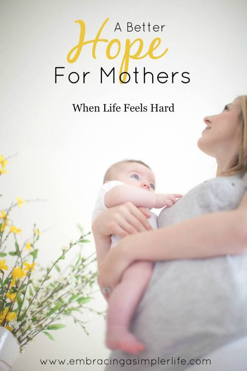 A bette hope for mothers