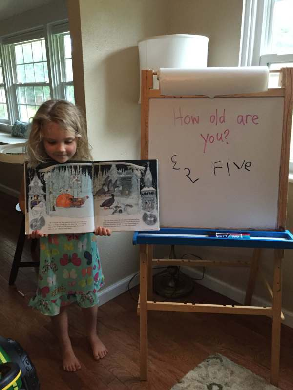 Our homeschool kindergarten challenge question process
