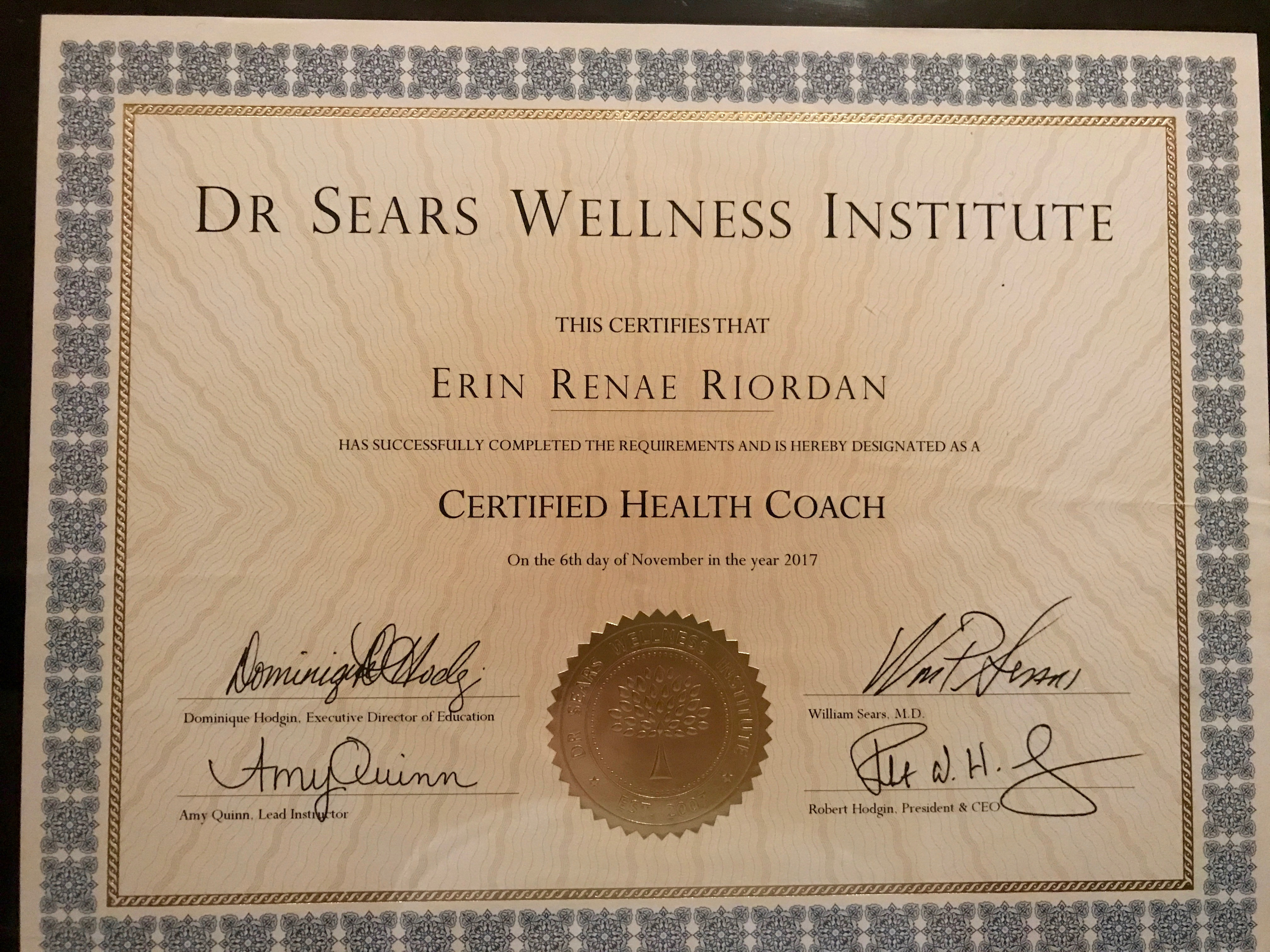 Health Coach Certificate Embracing Life After 50