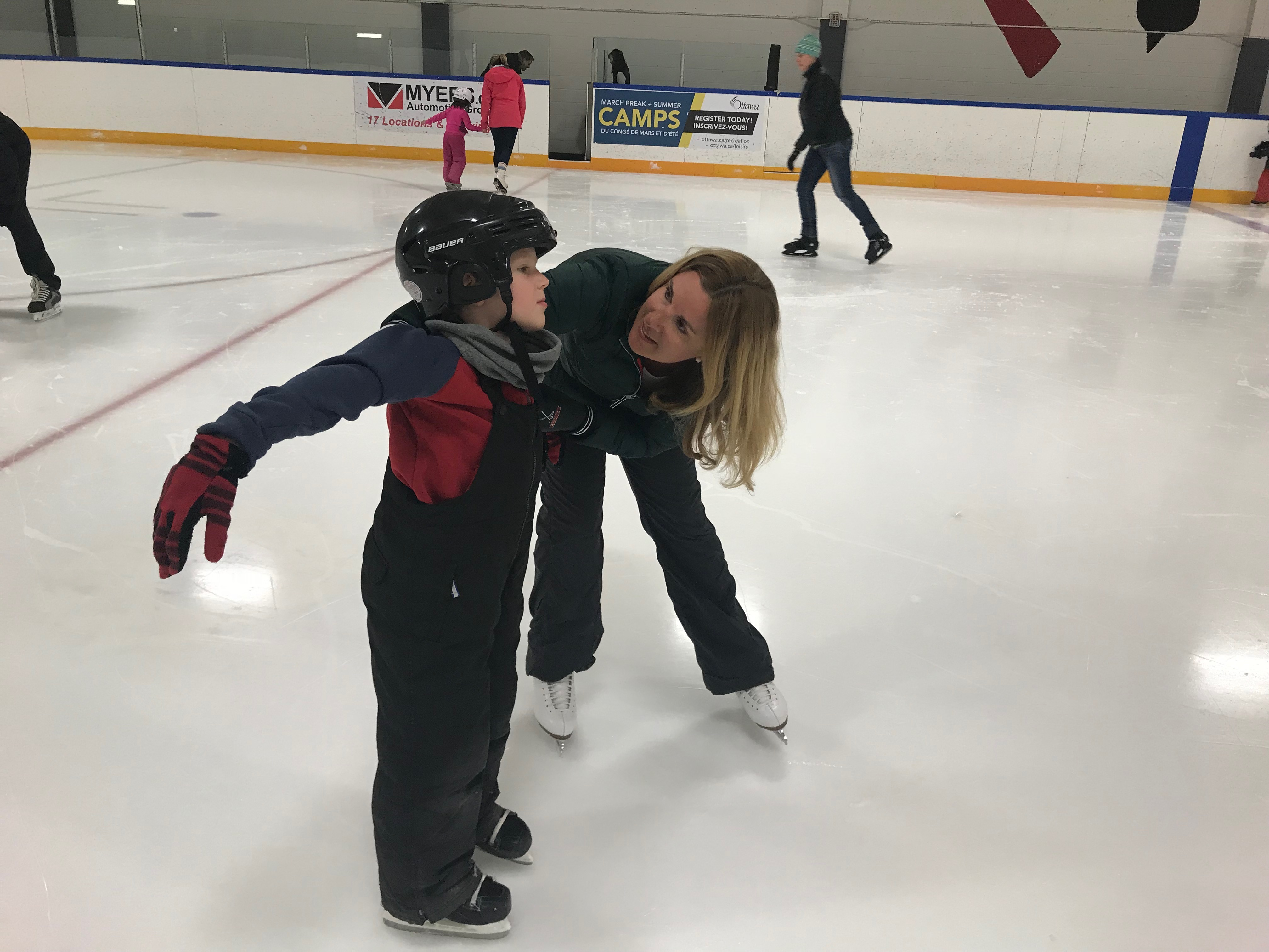 Taking to the Ice for Birthday Party Fun - Embracing Ottawa
