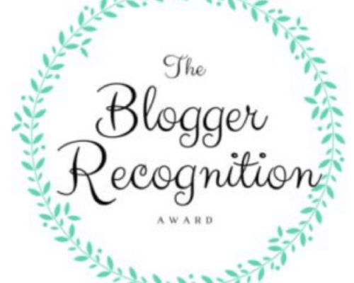 A big thank you to Amanda Preston for nominating Embracing the Unexpected   Maree Dee for the Blogger Recognition Award. What an honor and encouragement.
