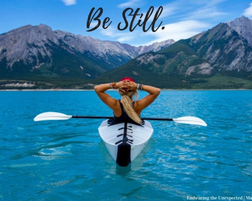 Welcome to my favorites page on the Topic of Being Still. On this page, you will find a variety of items related to our topic of Being Still.