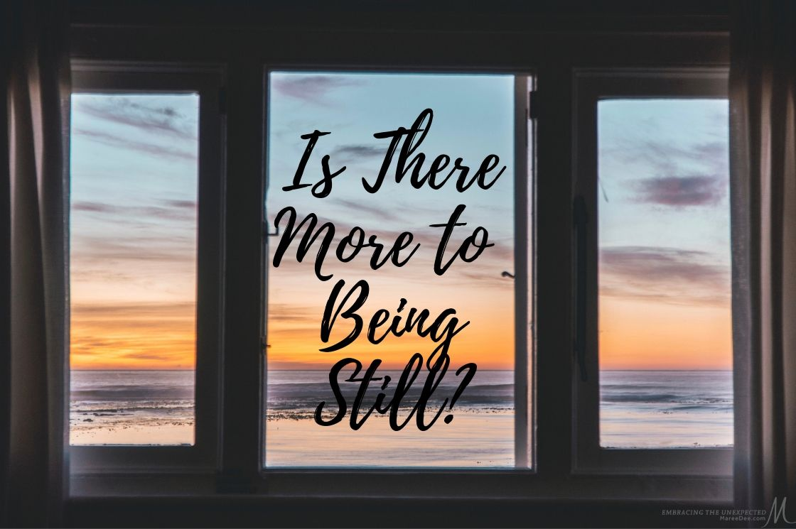 Have you mastered being still with God, or are you a perpetual work in progress in this area like me? Join us, as we explore - Is there more to being still?