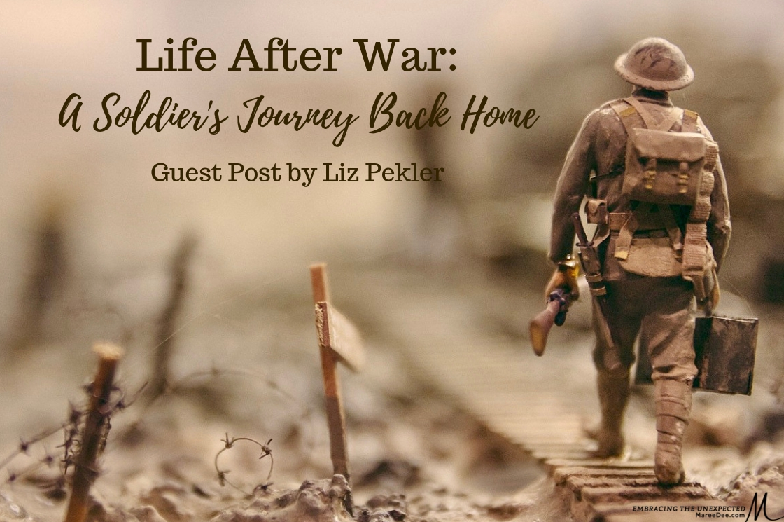 Life After War: A Soldier's Journey Back Home - Guest Post by Liz Pekler