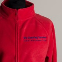 Women's Fleece Jackets - Cleaner Logo Embroidered