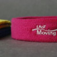 Head Sweatbands - Lady Moving