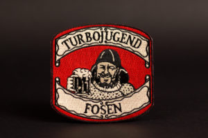 turbojugend fosen embroidered patch