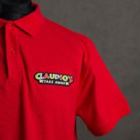 Claudios Take Away t shirts and polo shirts