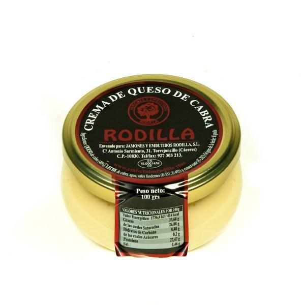 Crema de queso de cabra Rodilla