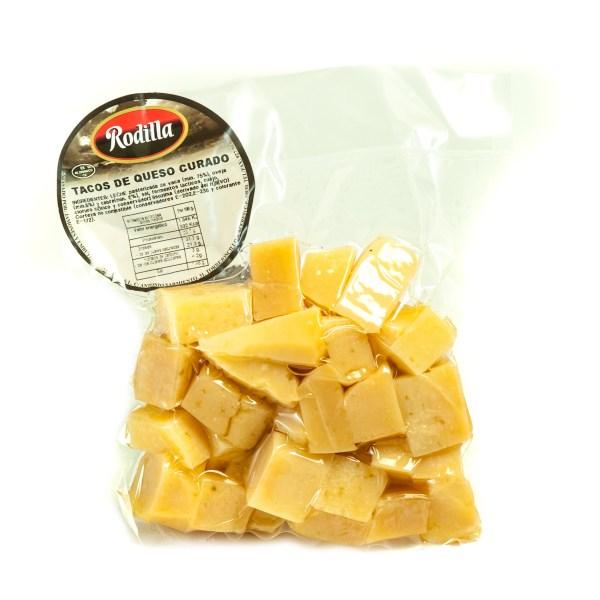 Tacos de queso de mezcla en aceite