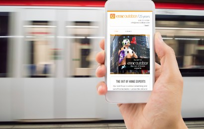 Study shows 74% ofwebsite traffic driven  by OOH campaign camefrom mobile!
