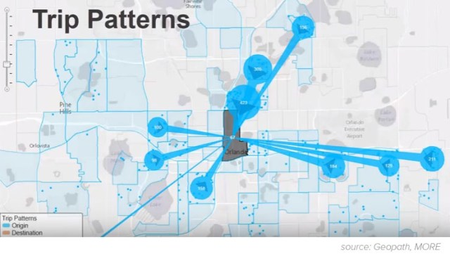 Using trip patterns, and audience source locations are just a couple of the new methods for planning OOH.