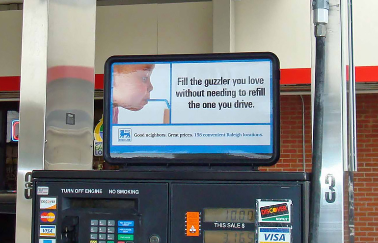 Our comprehensive portfolio of media products can effectively reach your target consumer and include: Gas Station Advertising And Displays Emc Outdoor