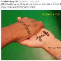 Racisme CE2 Peguy