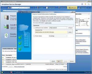 Figure 4.11 - Express Install Information Verification