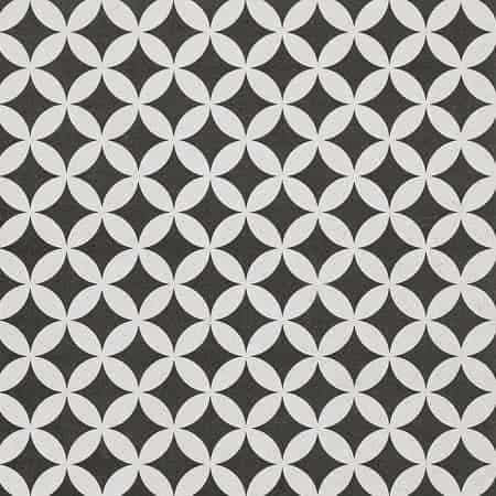 comfortc grey geo matt pattern porcelain tile